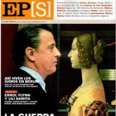 Coleccionismo de Periódico El País: 2001. CARLOS ÁLVAREZ, LA VOZ DE RIGOLETTO. MÓNICA BELLUCCI. ERROL FLYNN. VER SUMARIO. . Lote 145688498
