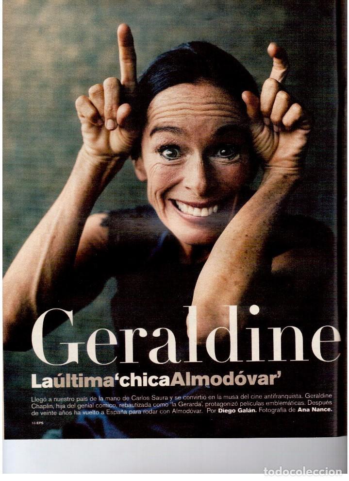 Coleccionismo de Periódico El País: 2001. GERALDINE CHAPLIN. AGUAVIVA. CAROLINA HERRERA. LA MATANZA DE NEPAL. RITA HAYWORTH Y O. WELLES. - Foto 3 - 145690058