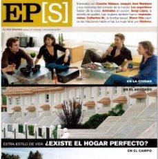 Coleccionismo de Periódico El País: 2001. JULIO BOCCA. CONCHA VELASCO. CATHERINE MILLET, A TODO SEXO. SERGÍ LÓPEZ. VER SUMARIO. . Lote 145711962