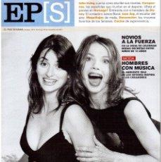 Coleccionismo de Periódico El País: 2001. PENÉLOPE CRUZ. VICTORIA ABRIL. JOHN IRVING. JEAN ARP. VER SUMARIO.. Lote 145712926