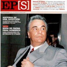 Coleccionismo de Periódico El País: 2001. MAHMUD ALÍ MAKKI. VICENTE GALLEGO. THE CORRS. SAHARAUIS. VER SUMARIO.. Lote 145735710