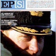 Coleccionismo de Periódico El País: 2001. AMY TAN. ISABEL ALLENDE. EVA YERBABUENA. EL SEÑOR DE LOS ANILLOS. GAY MERCADER. ROLLING STONES. Lote 145737554