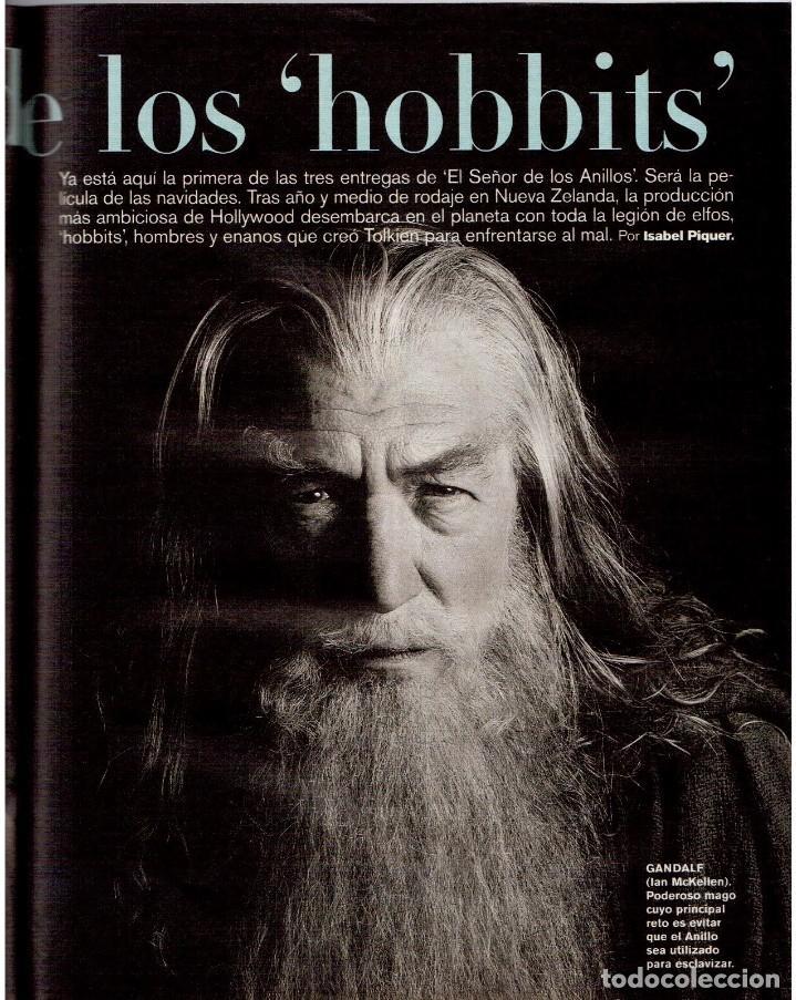 Coleccionismo de Periódico El País: 2001. AMY TAN. ISABEL ALLENDE. EVA YERBABUENA. EL SEÑOR DE LOS ANILLOS. GAY MERCADER. ROLLING STONES - Foto 8 - 145737554