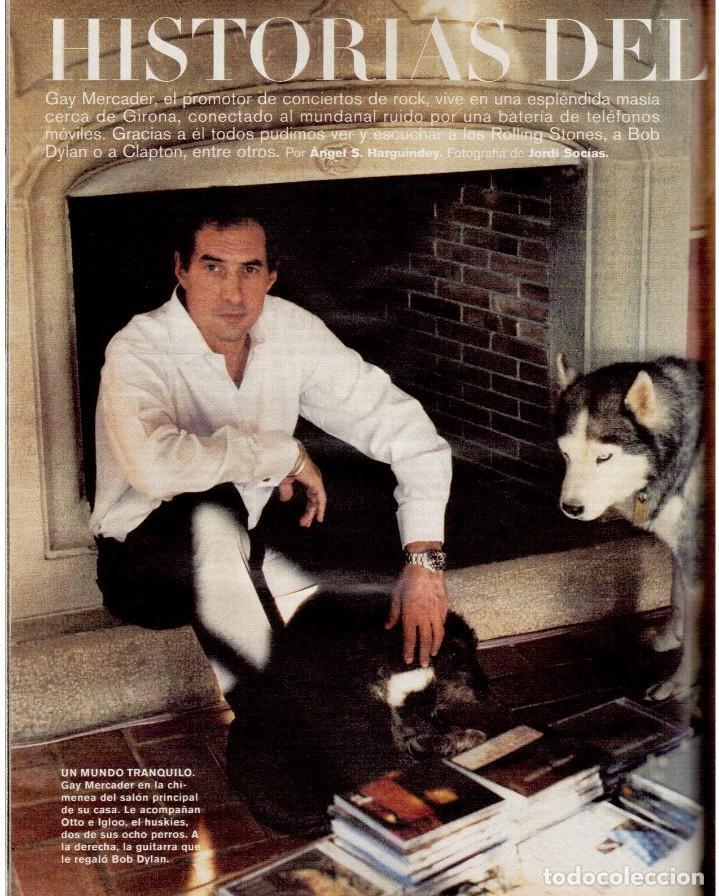 Coleccionismo de Periódico El País: 2001. AMY TAN. ISABEL ALLENDE. EVA YERBABUENA. EL SEÑOR DE LOS ANILLOS. GAY MERCADER. ROLLING STONES - Foto 9 - 145737554
