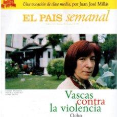 Coleccionismo de Periódico El País: 1997. VASCAS CONTRA LA VIOLENCIA. FLEETWOOD MAC. PABLO CARBONELL. RAFAEL REBOLO. VER SUMARIO.. Lote 145760686