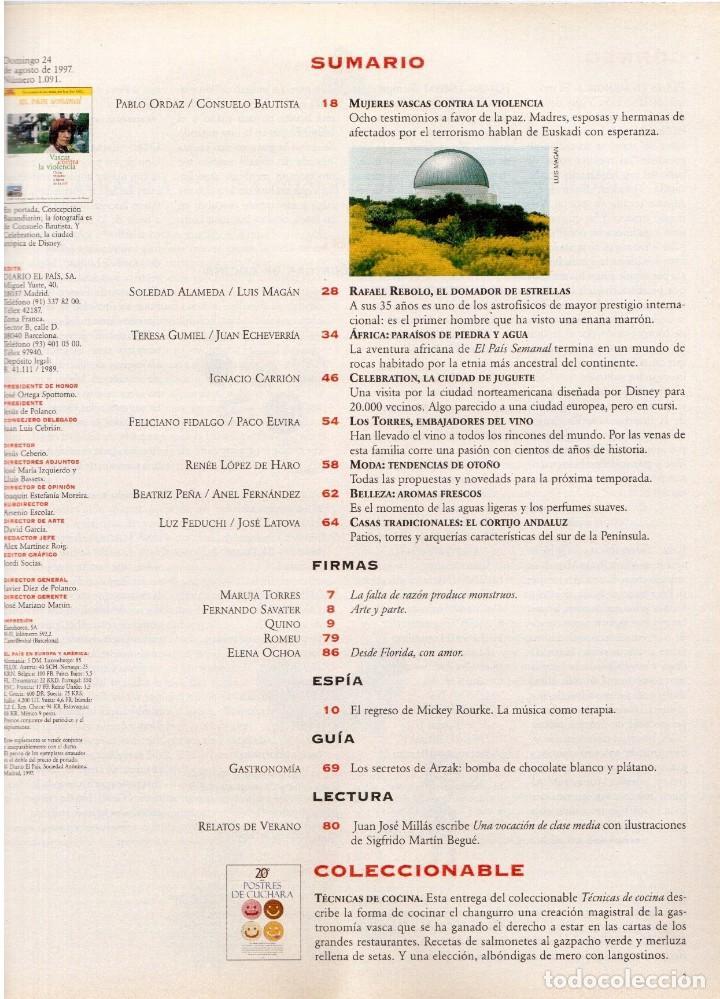 Coleccionismo de Periódico El País: 1997. vascas contra la violencia. fleetwood mac. pablo carbonell. rafael rebolo. ver sumario. - Foto 2 - 145760686