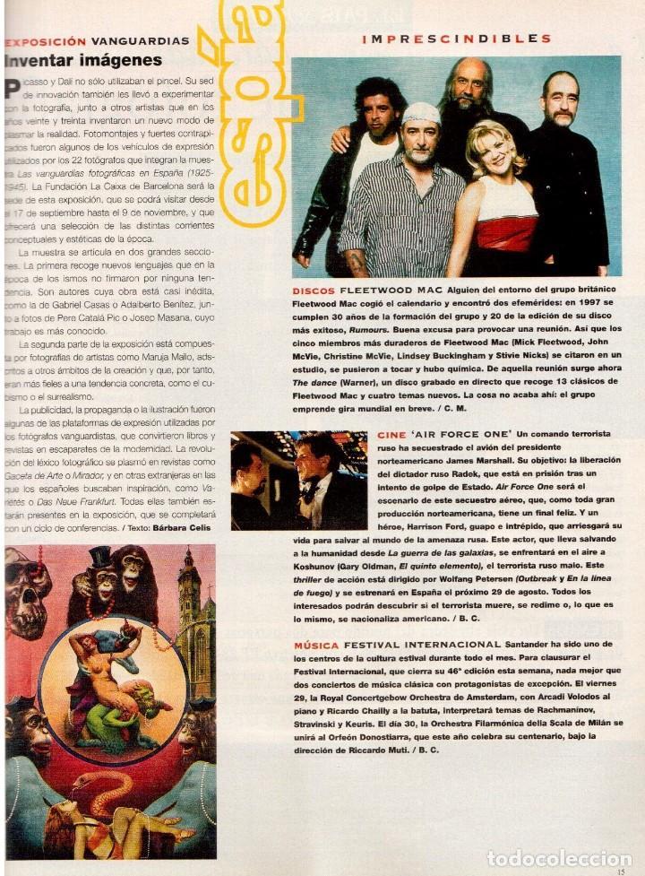 Coleccionismo de Periódico El País: 1997. vascas contra la violencia. fleetwood mac. pablo carbonell. rafael rebolo. ver sumario. - Foto 3 - 145760686