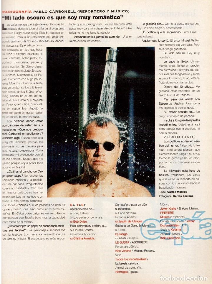Coleccionismo de Periódico El País: 1997. vascas contra la violencia. fleetwood mac. pablo carbonell. rafael rebolo. ver sumario. - Foto 4 - 145760686