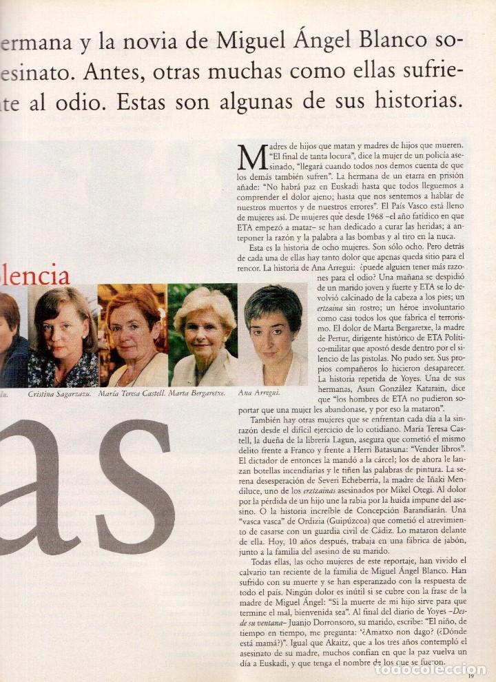 Coleccionismo de Periódico El País: 1997. vascas contra la violencia. fleetwood mac. pablo carbonell. rafael rebolo. ver sumario. - Foto 6 - 145760686