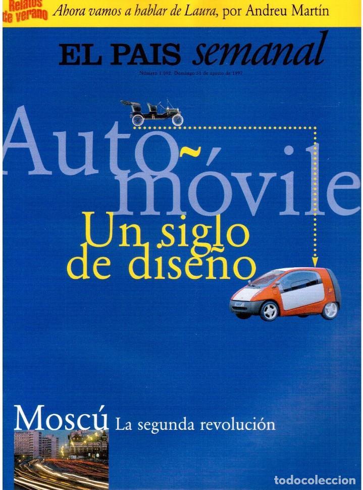 1997. DAVID BYRNE. CARLOS CHECA. JOAN BROSSA. SEMBRADOS DE MUERTE. VER SUMARIO. (Coleccionismo - Revistas y Periódicos Modernos (a partir de 1.940) - Periódico El Páis)
