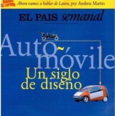 Coleccionismo de Periódico El País: 1997. DAVID BYRNE. CARLOS CHECA. JOAN BROSSA. SEMBRADOS DE MUERTE. VER SUMARIO.. Lote 145790394