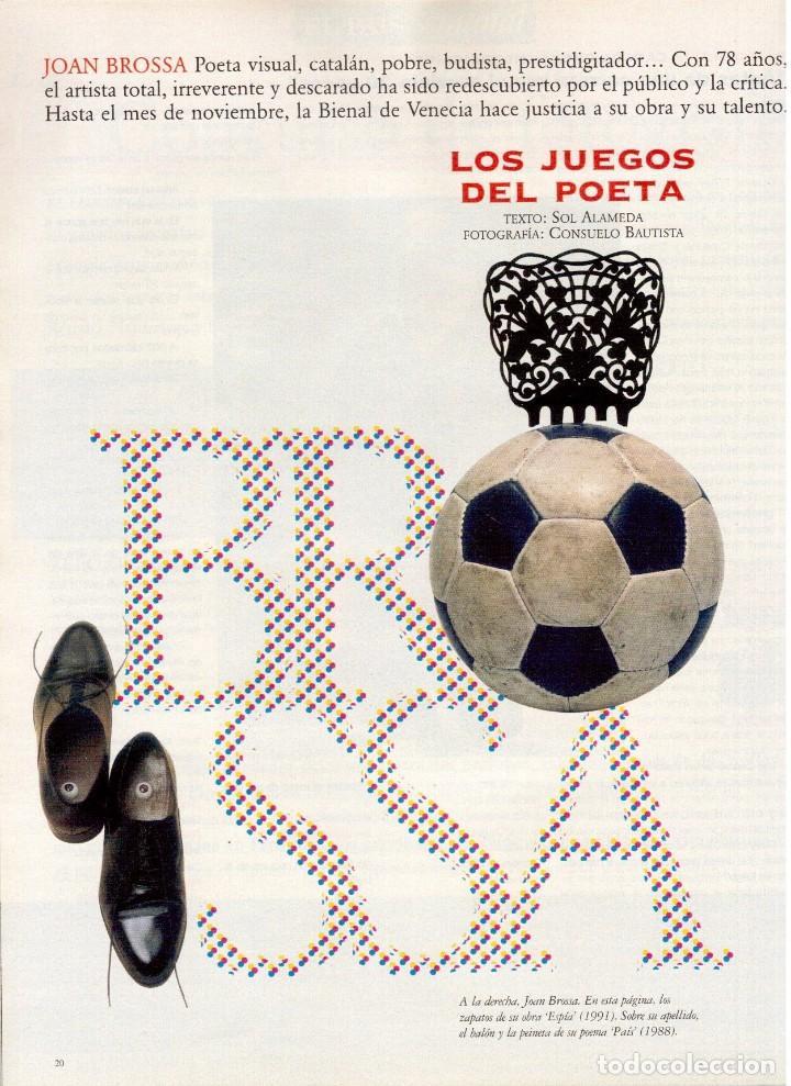 Coleccionismo de Periódico El País: 1997. david byrne. carlos checa. joan brossa. sembrados de muerte. ver sumario. - Foto 5 - 145790394