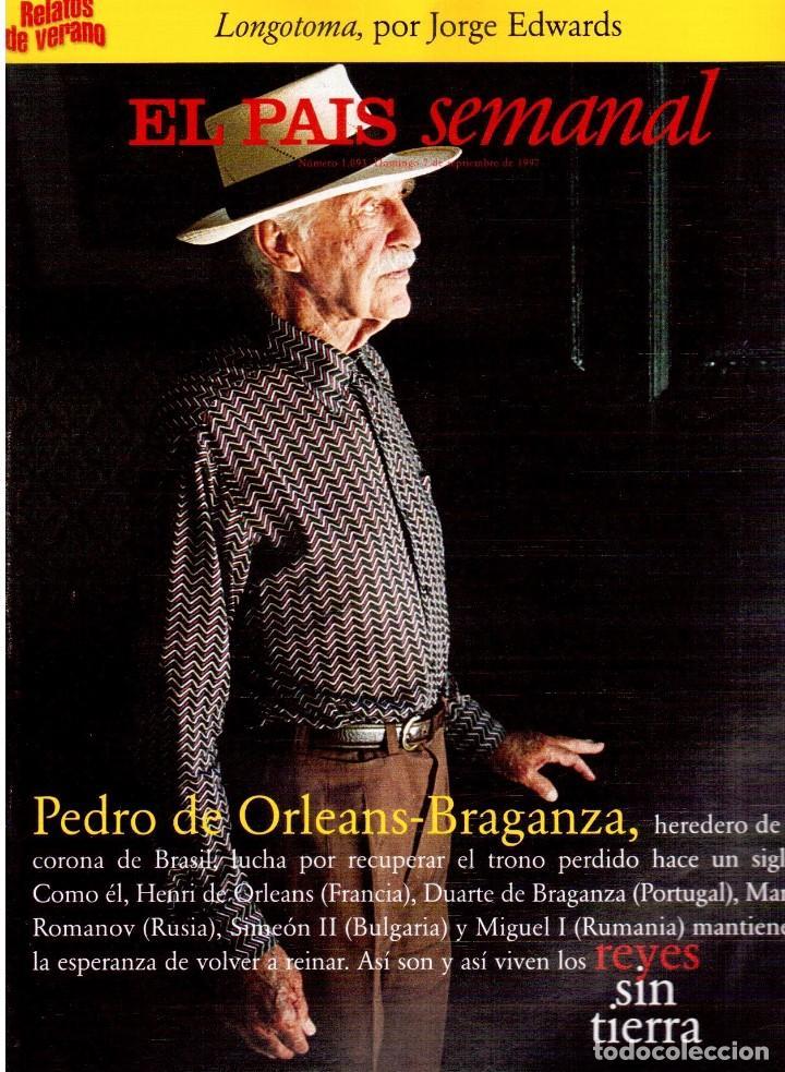 1997. NAJWA NIMRI. WILLIAM KLEIN. VICENT GALLO. JACQUES BREL. U2. JUAN DIEGO BOTTO. VER SUMARIO (Coleccionismo - Revistas y Periódicos Modernos (a partir de 1.940) - Periódico El Páis)