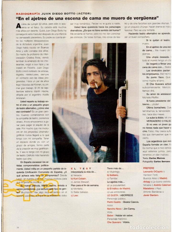 Coleccionismo de Periódico El País: 1997. najwa nimri. william klein. vicent gallo. jacques brel. u2. juan diego botto. ver sumario - Foto 7 - 145791894