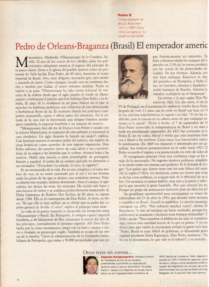Coleccionismo de Periódico El País: 1997. najwa nimri. william klein. vicent gallo. jacques brel. u2. juan diego botto. ver sumario - Foto 8 - 145791894