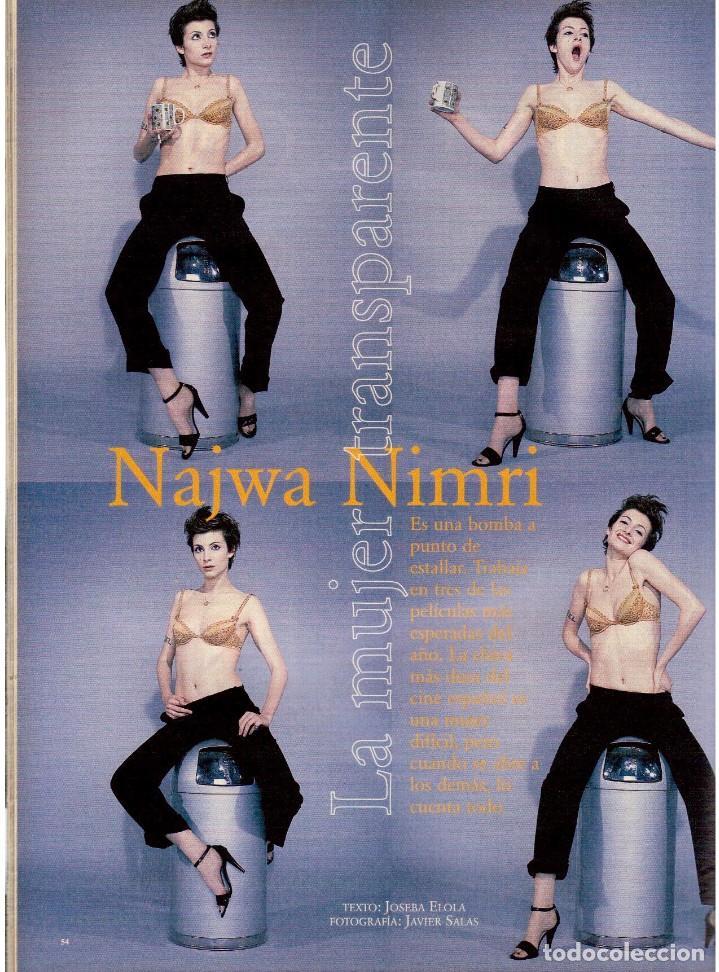 Coleccionismo de Periódico El País: 1997. najwa nimri. william klein. vicent gallo. jacques brel. u2. juan diego botto. ver sumario - Foto 9 - 145791894