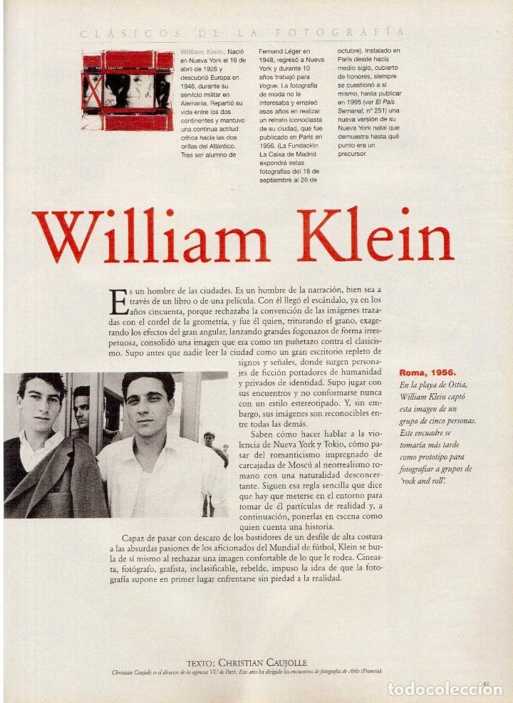 Coleccionismo de Periódico El País: 1997. najwa nimri. william klein. vicent gallo. jacques brel. u2. juan diego botto. ver sumario - Foto 11 - 145791894