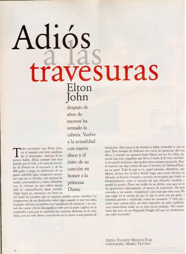 Coleccionismo de Periódico El País: 1997. 30 años del che guevara. elton john. carmen conesa. luis cuenca. kiti manver. nathalie seseña - Foto 6 - 145877962