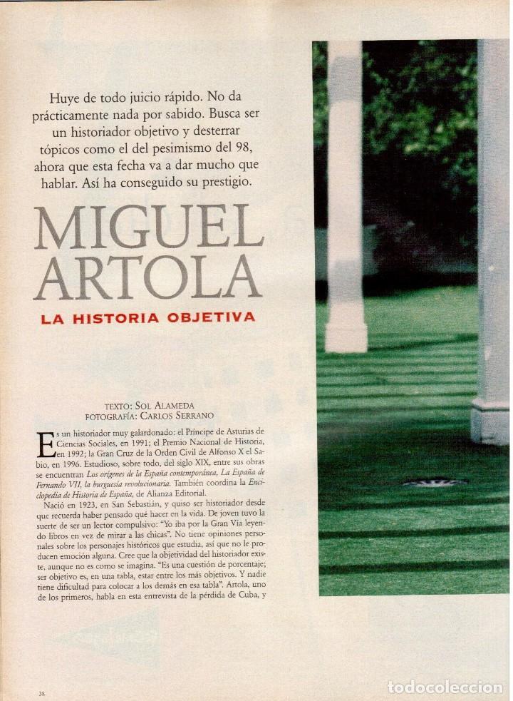 Coleccionismo de Periódico El País: 1997. mira sorbino. patti smith. lola baldrich. miguel artola. donna karan. miró. ver sumario. - Foto 6 - 145881398