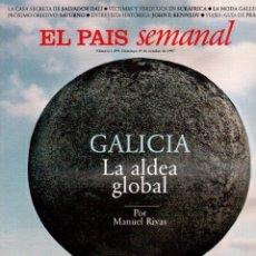 Coleccionismo de Periódico El País: 1997. THE CORRS. JEANNE MANDELLO. AITANA SÁNCHEZ-GIJÓN. JEREMY IRONS. ANTÓN REIXA. DALÍ. VER SUMARIO. Lote 145964138