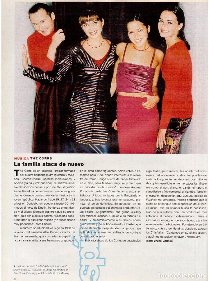 Coleccionismo de Periódico El País: 1997. the corrs. jeanne mandello. aitana sánchez-gijón. jeremy irons. antón reixa. DALÍ. VER SUMARIO - Foto 3 - 145964138