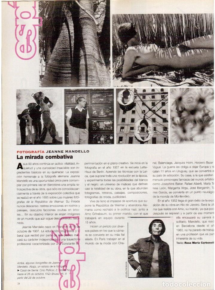 Coleccionismo de Periódico El País: 1997. the corrs. jeanne mandello. aitana sánchez-gijón. jeremy irons. antón reixa. DALÍ. VER SUMARIO - Foto 4 - 145964138