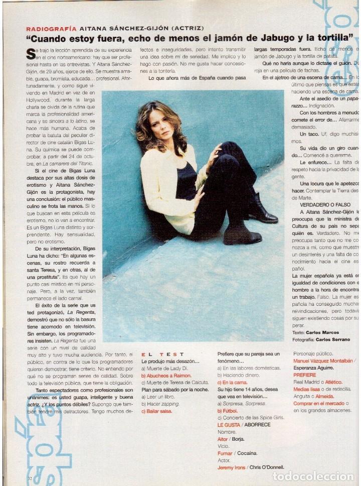 Coleccionismo de Periódico El País: 1997. the corrs. jeanne mandello. aitana sánchez-gijón. jeremy irons. antón reixa. DALÍ. VER SUMARIO - Foto 5 - 145964138