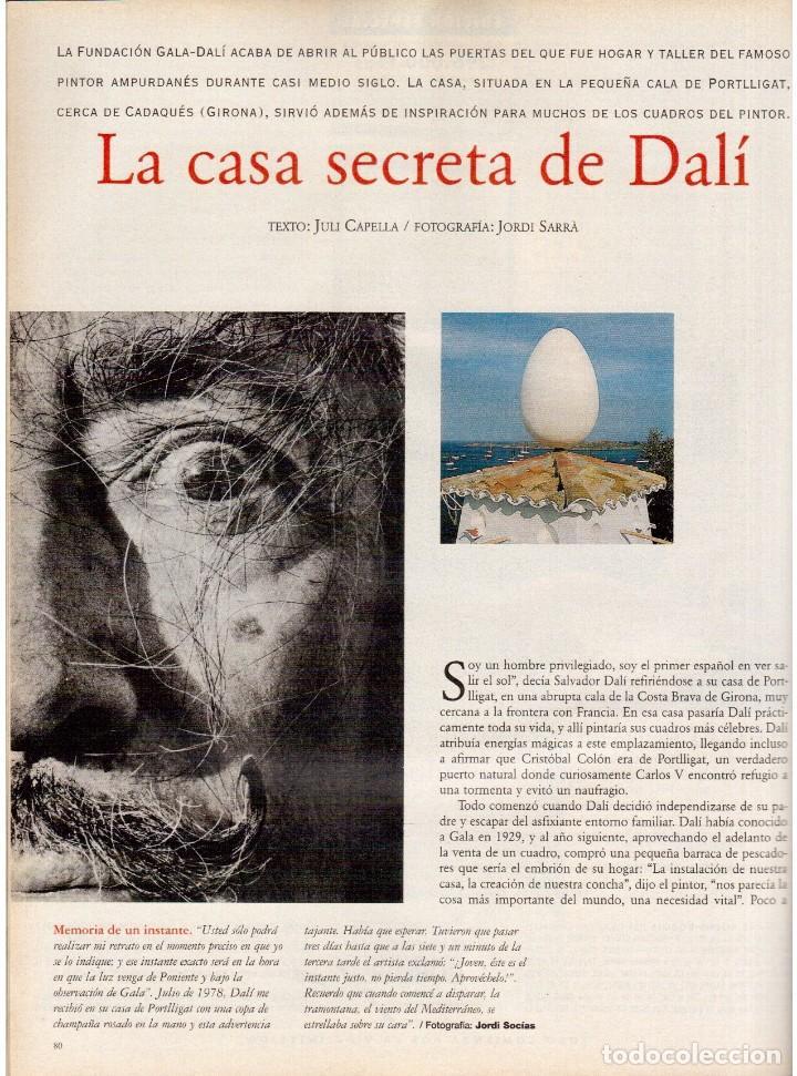 Coleccionismo de Periódico El País: 1997. the corrs. jeanne mandello. aitana sánchez-gijón. jeremy irons. antón reixa. DALÍ. VER SUMARIO - Foto 8 - 145964138