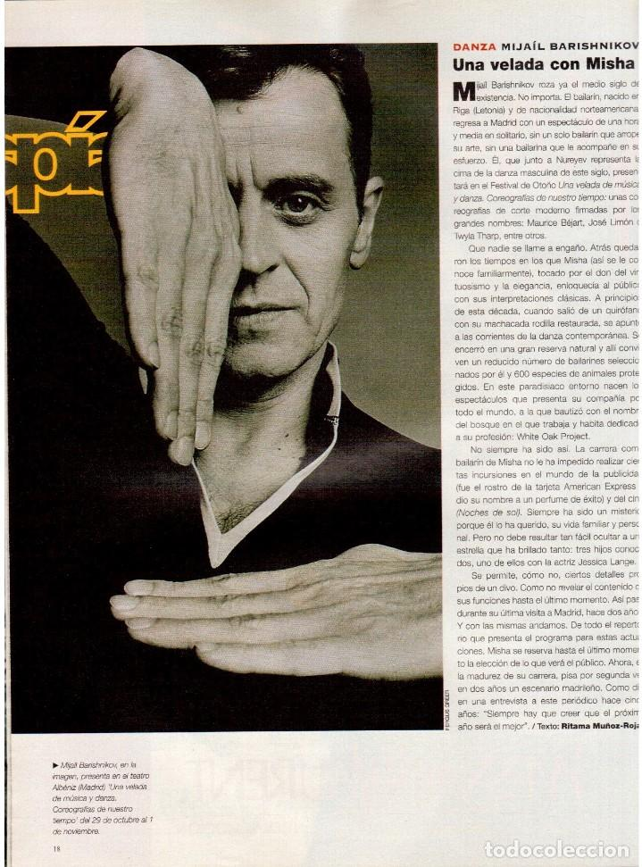 Coleccionismo de Periódico El País: 1997. mijaíl barishnikov. ariel rot. javier bardem. fernand léger. marlene dietrich. ver sumario. - Foto 3 - 145968154