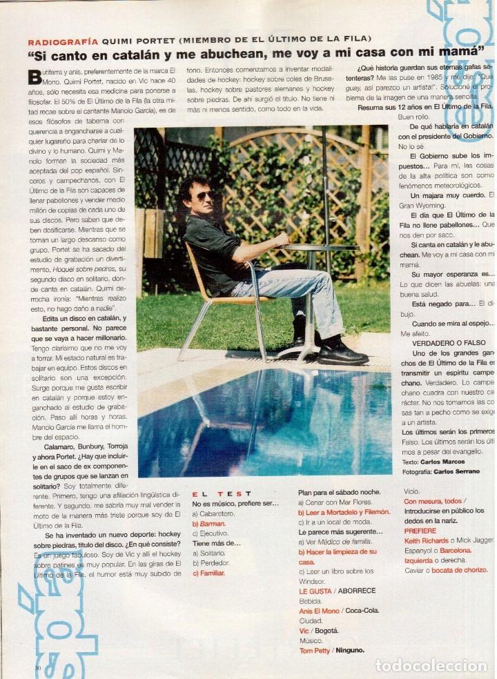 Coleccionismo de Periódico El País: 1997. mijaíl barishnikov. ariel rot. javier bardem. fernand léger. marlene dietrich. ver sumario. - Foto 5 - 145968154