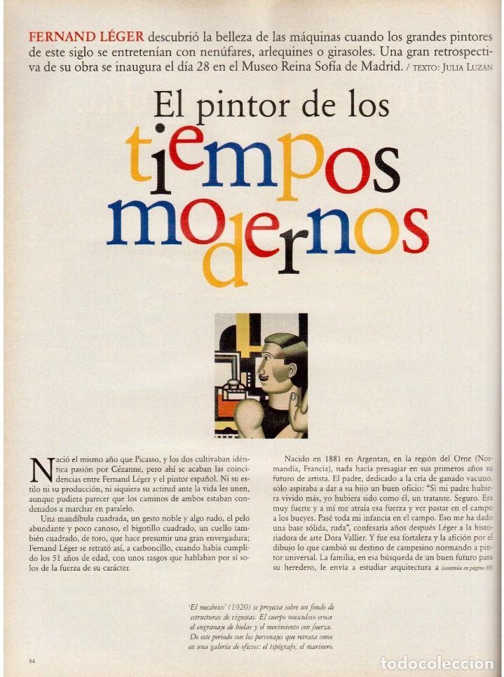 Coleccionismo de Periódico El País: 1997. mijaíl barishnikov. ariel rot. javier bardem. fernand léger. marlene dietrich. ver sumario. - Foto 7 - 145968154