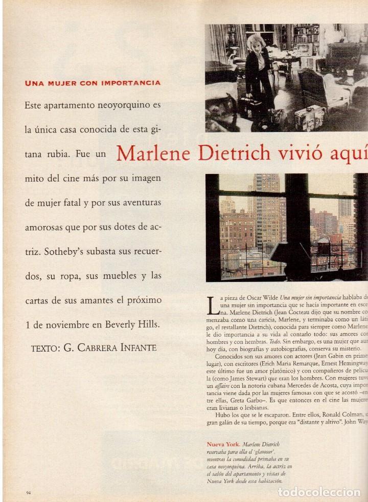 Coleccionismo de Periódico El País: 1997. mijaíl barishnikov. ariel rot. javier bardem. fernand léger. marlene dietrich. ver sumario. - Foto 9 - 145968154