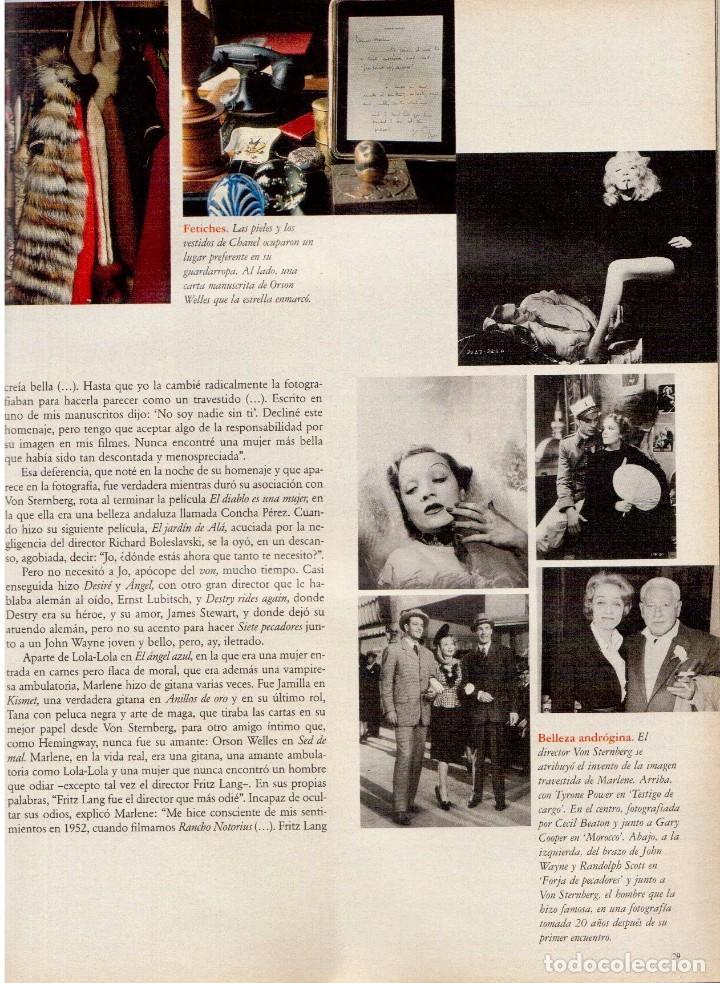 Coleccionismo de Periódico El País: 1997. mijaíl barishnikov. ariel rot. javier bardem. fernand léger. marlene dietrich. ver sumario. - Foto 10 - 145968154