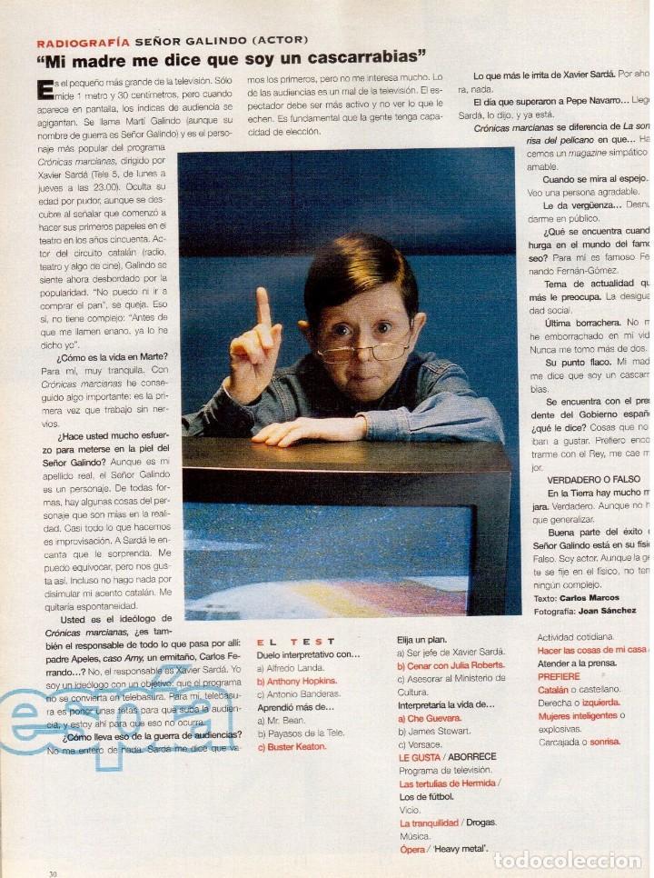 Coleccionismo de Periódico El País: 1997. bob dylan se confiesa. david duchovny. señor galindo. ortiz-echagüe. laura ponte. ver sumario - Foto 5 - 145970618