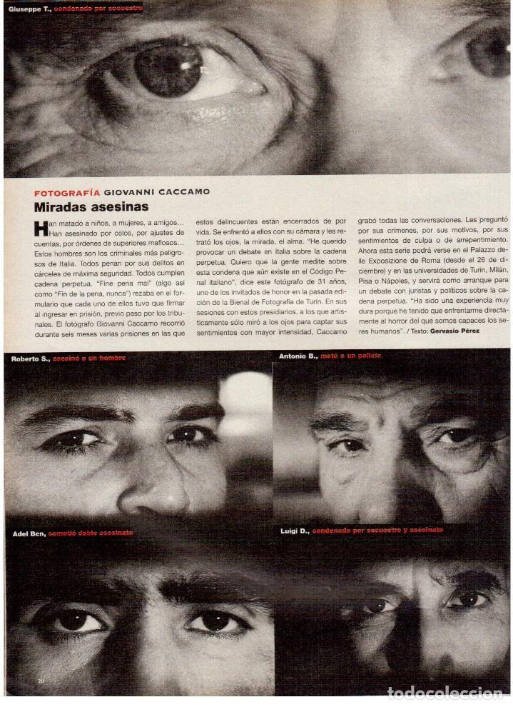 Coleccionismo de Periódico El País: 1997. belfast. ángela molina. giovanni caccamo. métallica y marianne faithful. antonio canales.ver. - Foto 3 - 145975290