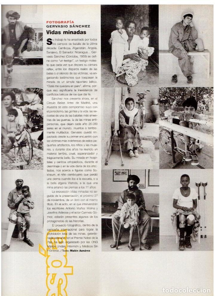 Coleccionismo de Periódico El País: 1997. gervasio sánchez. albert pla. doris lessing. el fary. fele mártinez. eduardo noriega. ver. - Foto 3 - 145976714