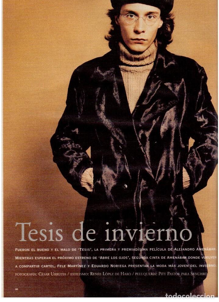 Coleccionismo de Periódico El País: 1997. gervasio sánchez. albert pla. doris lessing. el fary. fele mártinez. eduardo noriega. ver. - Foto 8 - 145976714