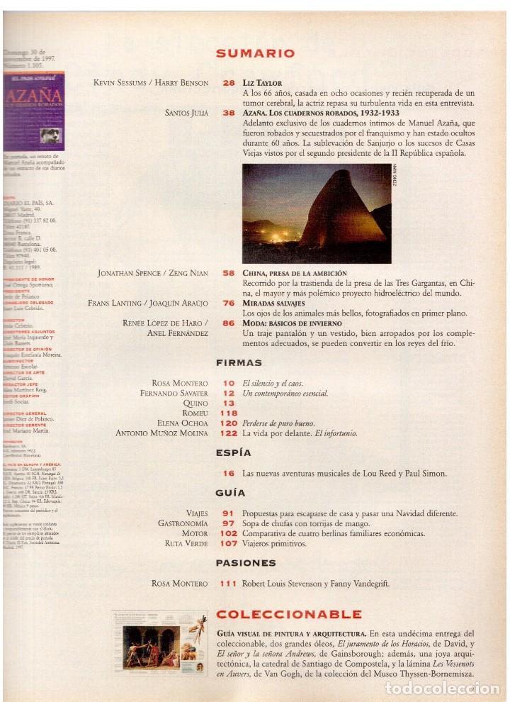 Coleccionismo de Periódico El País: 1997. lou red y paul simon. ethan hawke. tony catany. belinda washington. liz taylor. ver sumario. - Foto 2 - 146000522
