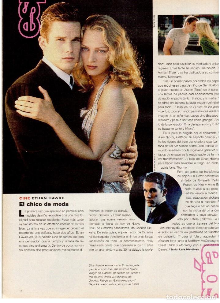 Coleccionismo de Periódico El País: 1997. lou red y paul simon. ethan hawke. tony catany. belinda washington. liz taylor. ver sumario. - Foto 5 - 146000522