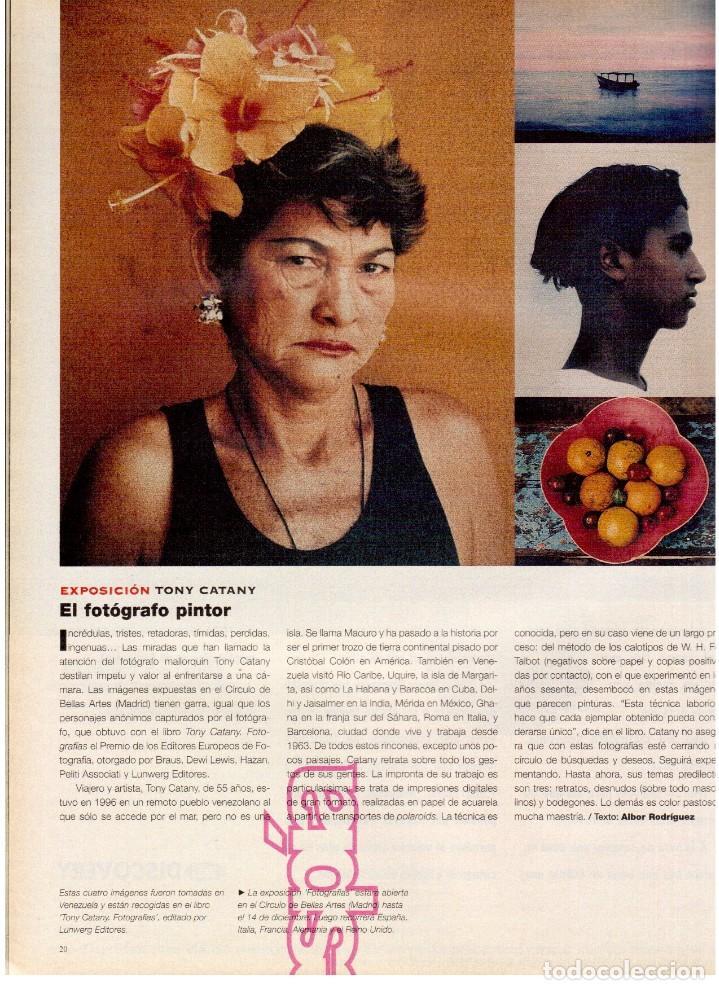 Coleccionismo de Periódico El País: 1997. lou red y paul simon. ethan hawke. tony catany. belinda washington. liz taylor. ver sumario. - Foto 6 - 146000522