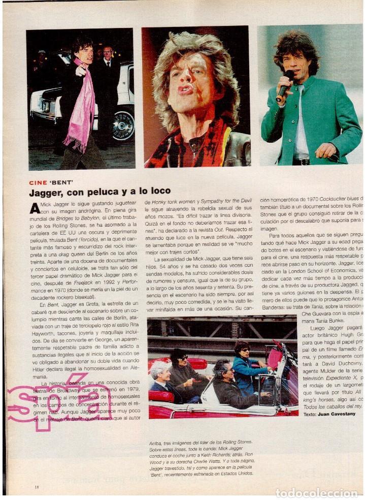 Coleccionismo de Periódico El País: 1997. mick jagger. kate winslet. carmen sevilla. maibel verdú. ana obregón. rocío jurado. ver sumari - Foto 3 - 146008862