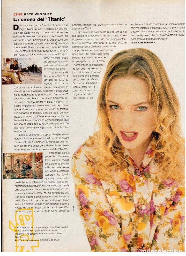 Coleccionismo de Periódico El País: 1997. mick jagger. kate winslet. carmen sevilla. maibel verdú. ana obregón. rocío jurado. ver sumari - Foto 4 - 146008862