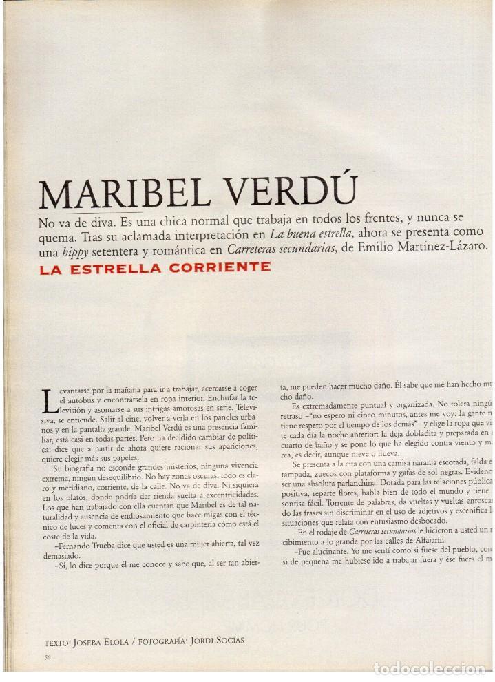 Coleccionismo de Periódico El País: 1997. mick jagger. kate winslet. carmen sevilla. maibel verdú. ana obregón. rocío jurado. ver sumari - Foto 9 - 146008862