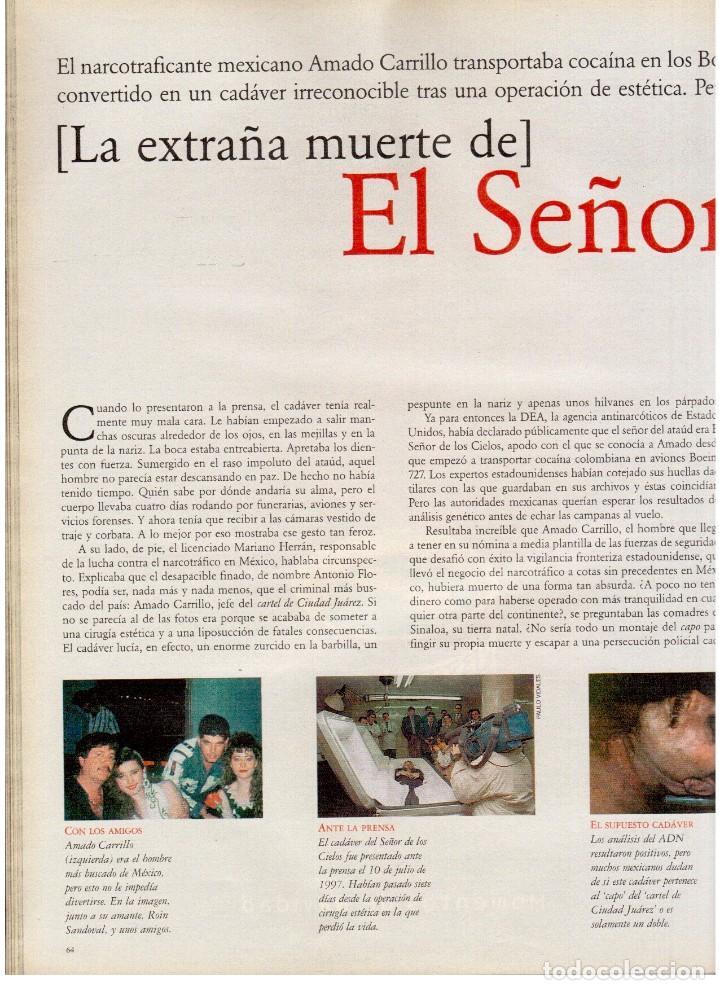 Coleccionismo de Periódico El País: 1997. mick jagger. kate winslet. carmen sevilla. maibel verdú. ana obregón. rocío jurado. ver sumari - Foto 11 - 146008862