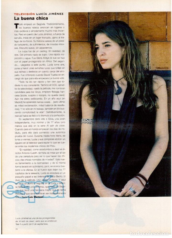 Coleccionismo de Periódico El País: 1997. ana torroja de mecano. teenage fan club. chus gutiérrez. markus wolf. ver sumario. - Foto 3 - 146072314