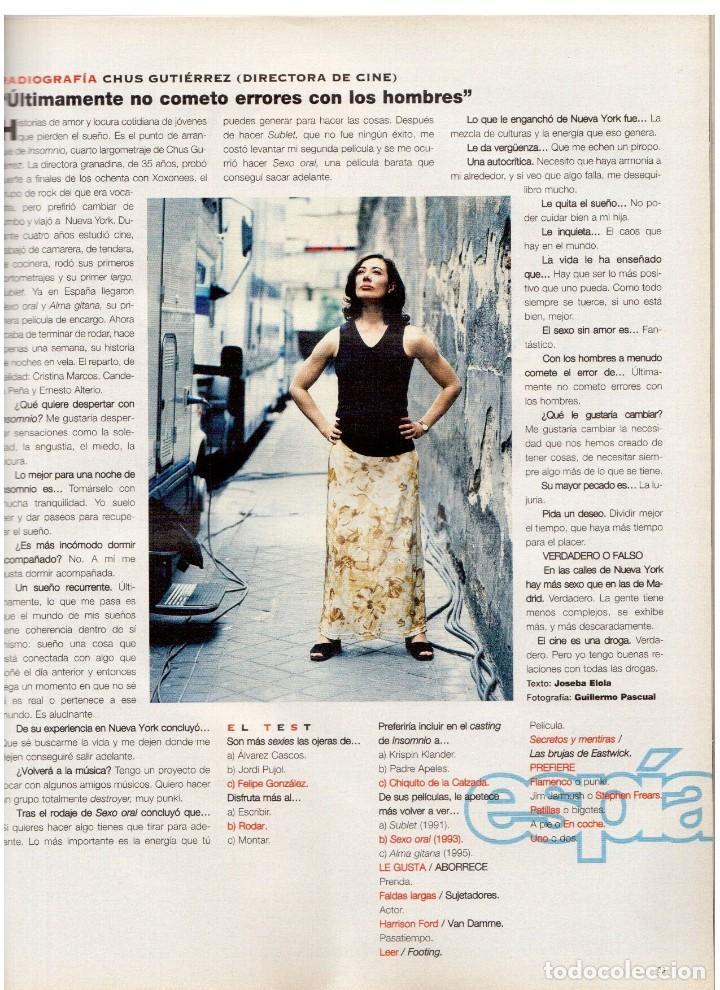 Coleccionismo de Periódico El País: 1997. ana torroja de mecano. teenage fan club. chus gutiérrez. markus wolf. ver sumario. - Foto 6 - 146072314