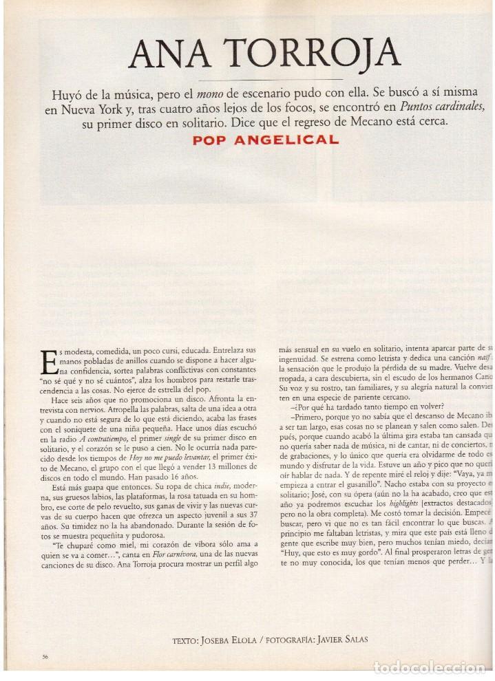 Coleccionismo de Periódico El País: 1997. ana torroja de mecano. teenage fan club. chus gutiérrez. markus wolf. ver sumario. - Foto 10 - 146072314