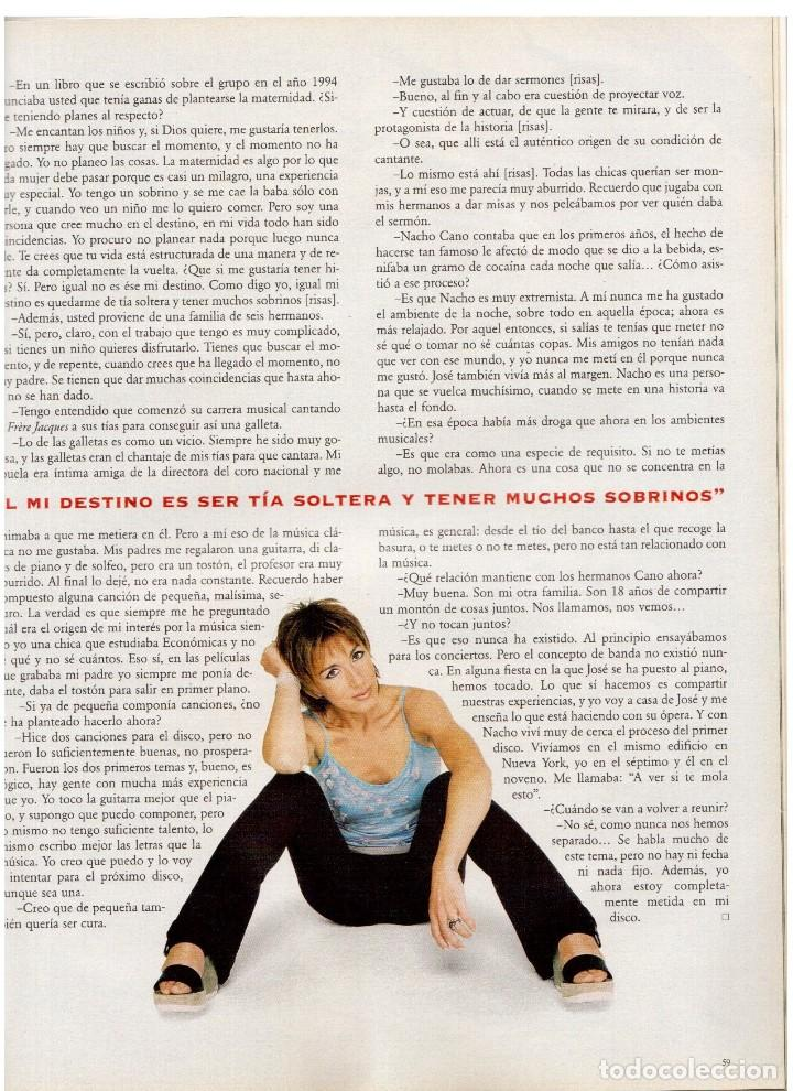 Coleccionismo de Periódico El País: 1997. ana torroja de mecano. teenage fan club. chus gutiérrez. markus wolf. ver sumario. - Foto 12 - 146072314