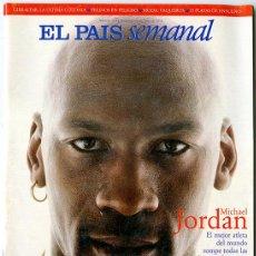 Coleccionismo de Periódico El País: EL PAÍS SEMANAL. Nº 1.137 - 12 JULIO 1998. 102 PÁGINAS. MICHAEL JORDAN. Lote 146110482