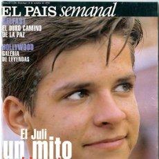 Coleccionismo de Periódico El País: EL PAÍS SEMANAL. Nº 1.150 - 11 OCTUBRE 1998. 122 PP. EL JULI. HOLLYWOOD, GALERÍA DE LEYENDAS. Lote 146114186